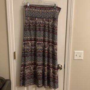 Super soft maxi skirt